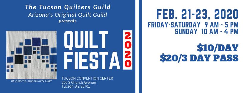Quilt Fiesta 2020 banner image